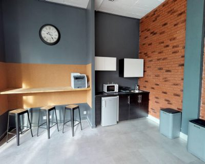 Office for rent PARIS 75017 - L'atelier Legendre - Kitchen area