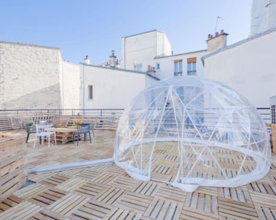 Office for rent PARIS 75012 - L'Hôtel du viaduc - Terrasse 1