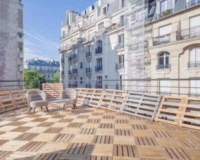 Office for rent PARIS 75012 - L'Hôtel du viaduc - Terrasse 3