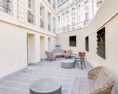 Office for rent PARIS 75012 - Hotel du viaduc - Terrasse 5