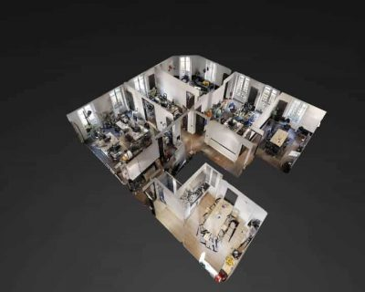 Office for rent PARIS 75010 - Hauteville Office - Plan 3D 3