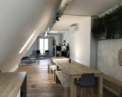 Office for rent PARIS 75010 - The Office of the 6th Heaven - Open Space 2