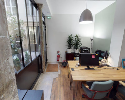 Office for rent PARIS 75003 - Green Lab - Open space 2