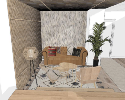 Office for rent paris office 75009 Plan Relaxation area